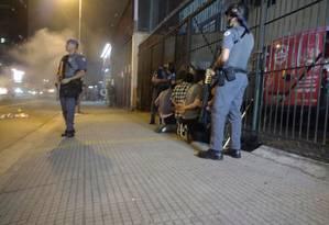 Quatro pessoas são detidas no quinto dia de protesto em SP Foto: Luiza Souto