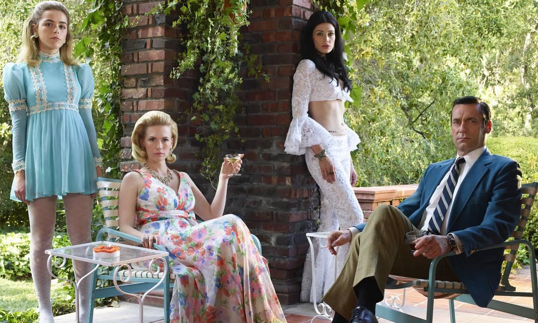 Uma das imagens promocionais de Mad Men, série em January Jones interpretou Betty Draper Frank Ockenfels/Divulgação