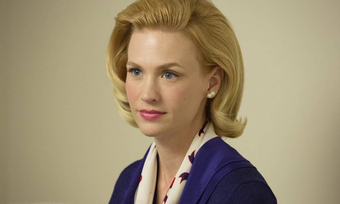 January Jones caracterizada como Betty Michael Yarish/AMC