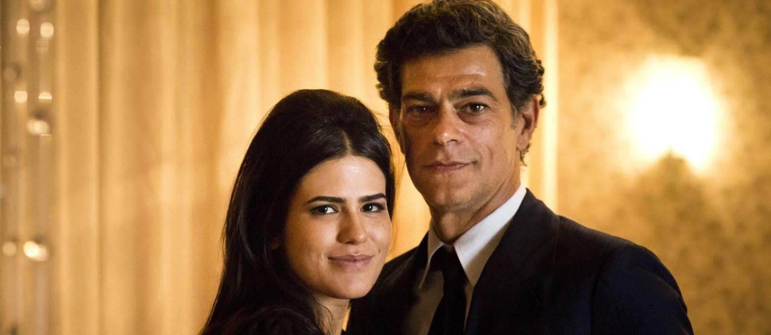"""Os atores Antonia Morais e Du Moscovis, protagonistas de """"Lúcia McCartney"""", que irá ao ar no canal GNT Foto: Mônica Imbuzeiro / Mônica Imbuzeiro"""