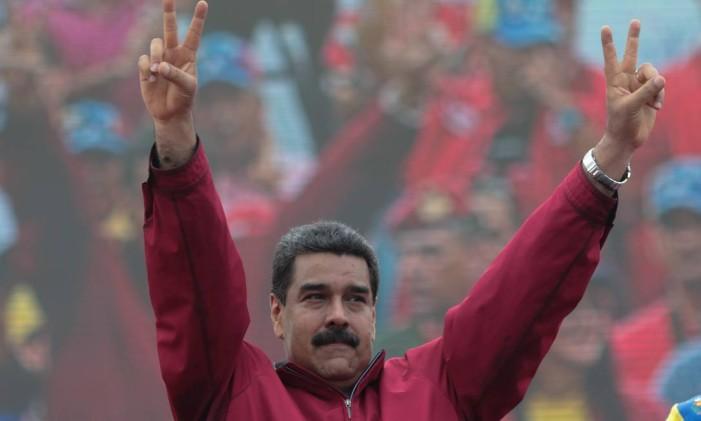 O presidente da Venezuela, Nicolás Maduro, é alvo de referendo revogatório convocado pela oposição Foto: HANDOUT / REUTERS