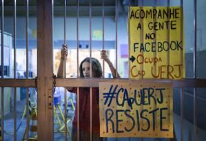 Anna Ehms, de 16 anos Foto: Leo Martins / Agência O Globo