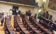 Câmara de Vereadores no dia 30 de agosto