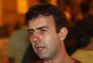 O candidato Marcelo Freixo, do PSOL Foto: Paulo Nicolella / Agência O Globo