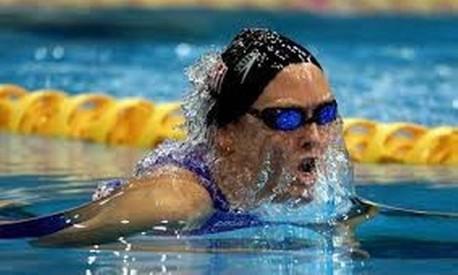 Fenômeno. Trischa Zorn, cega de nascença, é a atleta mais bem sucedida na história dos Jogos Paralímpicos Foto: Divulgação
