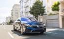 Mercedes Classe E: modelo é usado nos testes do projeto, que aproveita os sensores de ultrassom do sedã Foto: Divulgação