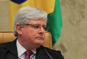 O procurador-geral da República, Rodrigo Janot Foto: Ailton de Freitas / Agência O Globo