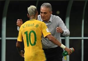 Tite avisou que vai observar os jogadores em seus clubes Foto: VANDERLEI ALMEIDA / AFP