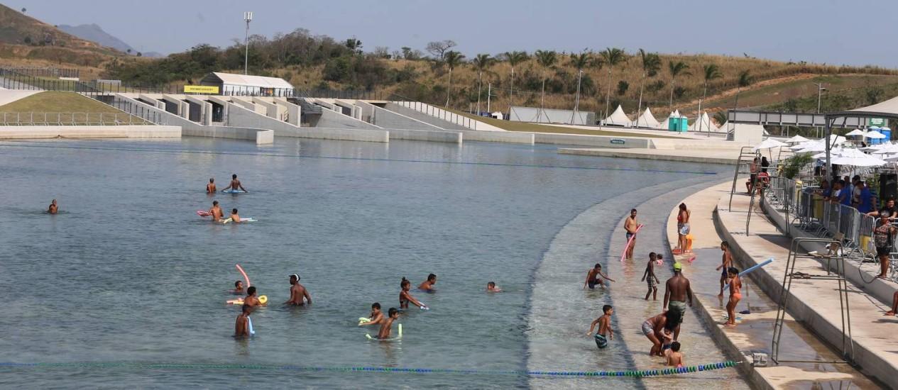 Parque de Deodoro terá capacidade para 3 mil pessoas por dia Foto: Fabiano Rocha / Extra / Agência O Globo