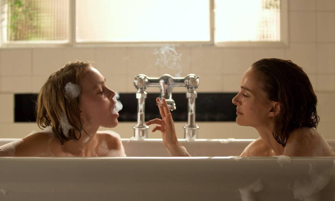Lily-Rose em cena com Natalie Portman Divulgação
