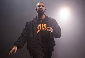 O rapper Drake Foto: Charles Sykes / AP