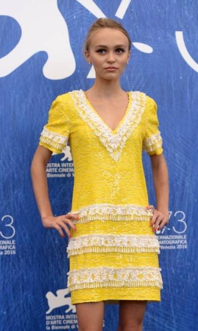 Lily-Rose Depp FILIPPO MONTEFORTE / AFP