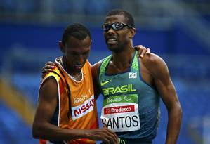 Odair Santos conquistou a primeira medalha do Brasil nos Jogos Paralímpicos Foto: RICARDO MORAES / REUTERS