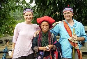 Elizabeth Gilbert e José Lauro Nunes no Vietnã Foto: Divulgação