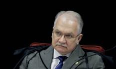 O ministro Edson Fachin Foto: Fellipe Sampaio/SCO/STF