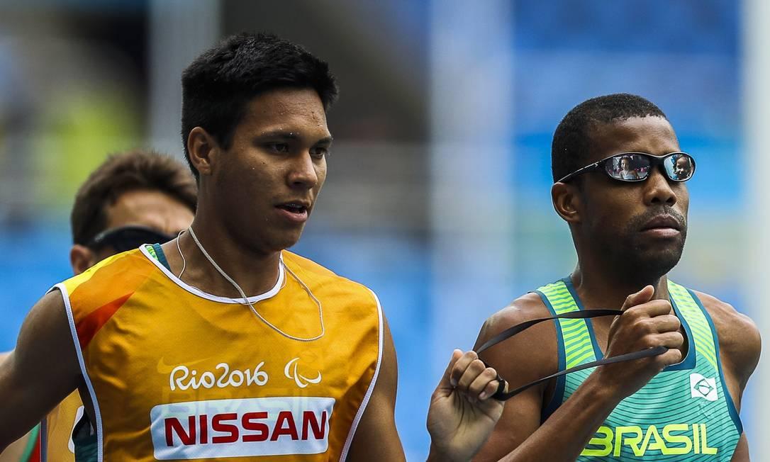 A medalha de Odair Santos foi a primeira do Brasil na Paralimpíada do Rio Guilherme Leporace / Agência O Globo