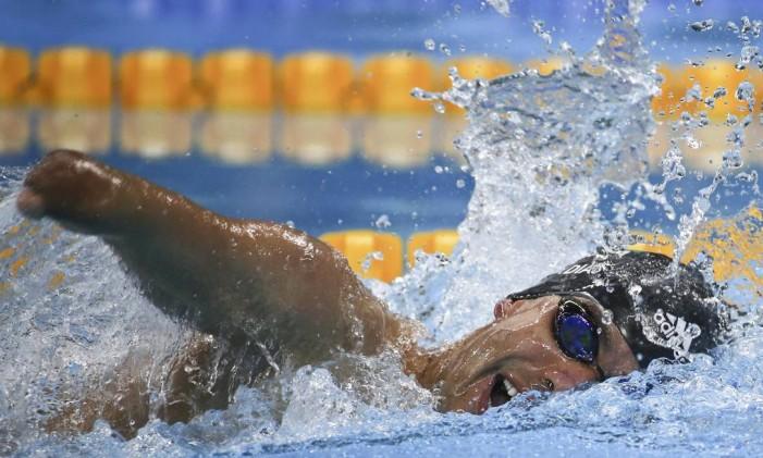 Daniel Dias conquistou o ouro nos 200m livre Foto: SERGIO MORAES / REUTERS