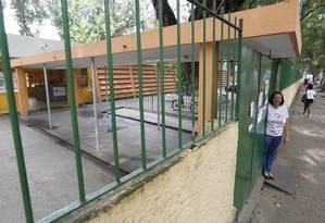 Escola Municipal Julia Cortines, em Icaraí: unidade teve o melhor desempenho da rede municipal no Ideb Foto: Pablo Jacob / Agência O Globo
