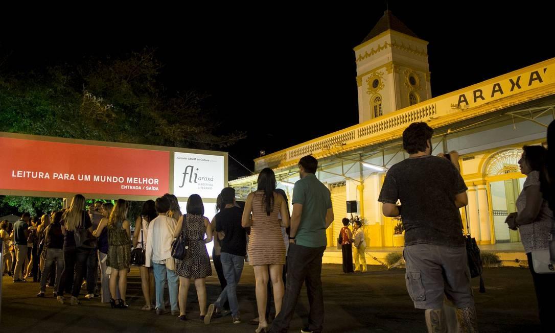 Fliaraxa, em 2014: evento já reuniu mais de 15 mil pessoas desde a sua criação Foto: Jackson Romanelli / Jackson Romanelli/Infinito.