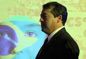 """Ruído. Propostas do ministro do Trabalho, Ronaldo Nogueira, foram classificadas de """"delirantes"""" pela Força Sindical Foto: O Globo / Michel Filho/8-9-2016"""