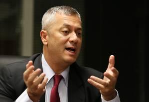 Fábio Medina Osório, antes de ser demitido do cargo ministro-chefe da Advocacia-Geral da União (AGU) Foto: Michel Filho / Agência O Globo