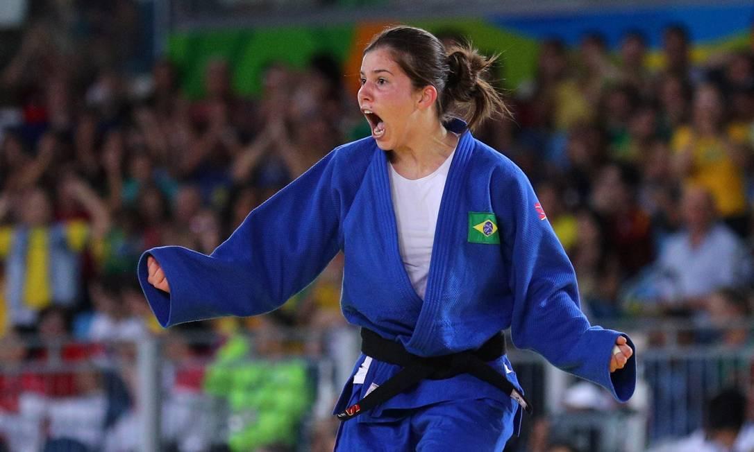 Alana Martins Maldonado vence a semi final contra a húngara Nikolett Szabo Pablo Jacob / Agência O Globo