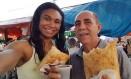 Ex-jogadora da seleção de basquete, Iziane faz campanha em São Luís, como candidata a vereadora Foto: Arquivo pessoal/Facebook
