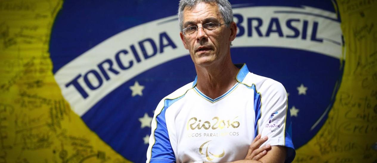 João na sede da Andef: como presidente do comitê, trabalhou para que os brasileiros conhecessem a Paralimpíada Foto: PABLO / Pablo JAcob
