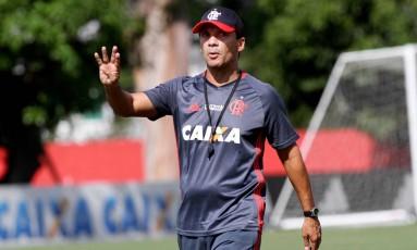 Zé Ricardo, técnico do Flamengo Foto: Gilvan de Souza / Flamengo