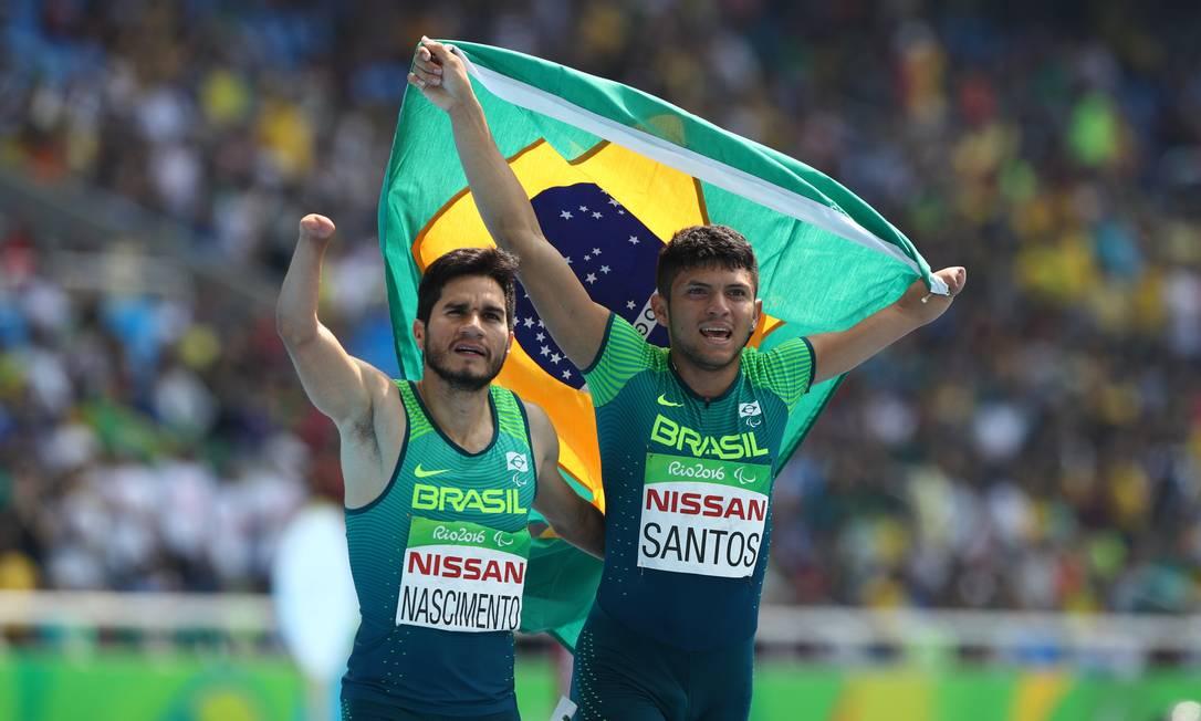 Yohansson e Petrucio vão correr juntos no revezamento 4x100m Pablo Jacob / Agência O Globo