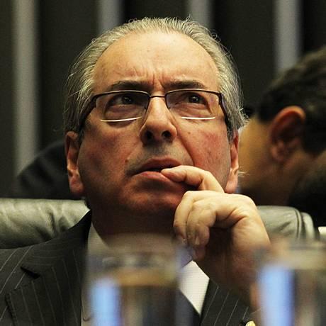 Deputado Eduardo Cunha (PMDB-RJ) preside sessão da Câmara Foto: Jorge William/17-4-2016