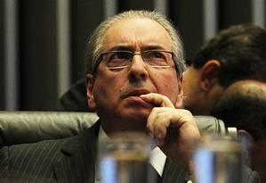 Eduardo Cunha preside sessão na Câmara dos Deputados Foto: Jorge William/17-4-2016