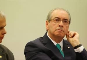 Eduardo Cunha participa das oitivas no Conselho de Ética na Câmara Foto: Ailton de Freitas/18-5-2016