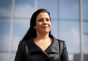 """Natália Zimmermann, do Santander: """"Muita insegurança jurídica"""" Foto: Marcos Alves"""