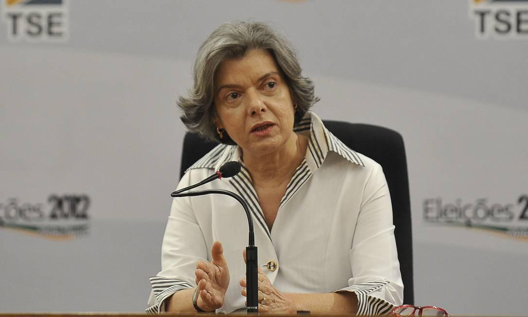 Em 2012, assumiu como presidente do Tribunal Superior Eleitoral (TSE) e atuou no cargo durante as eleições municipais daquele ano Foto: Antonio Cruz / Agência Brasil