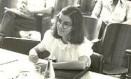 Cármen Lúcia na época de estudante. Ela se formou na Faculdade Mineira de Direito (PUC-MG) em 1977 Foto: Arquivo pessoal