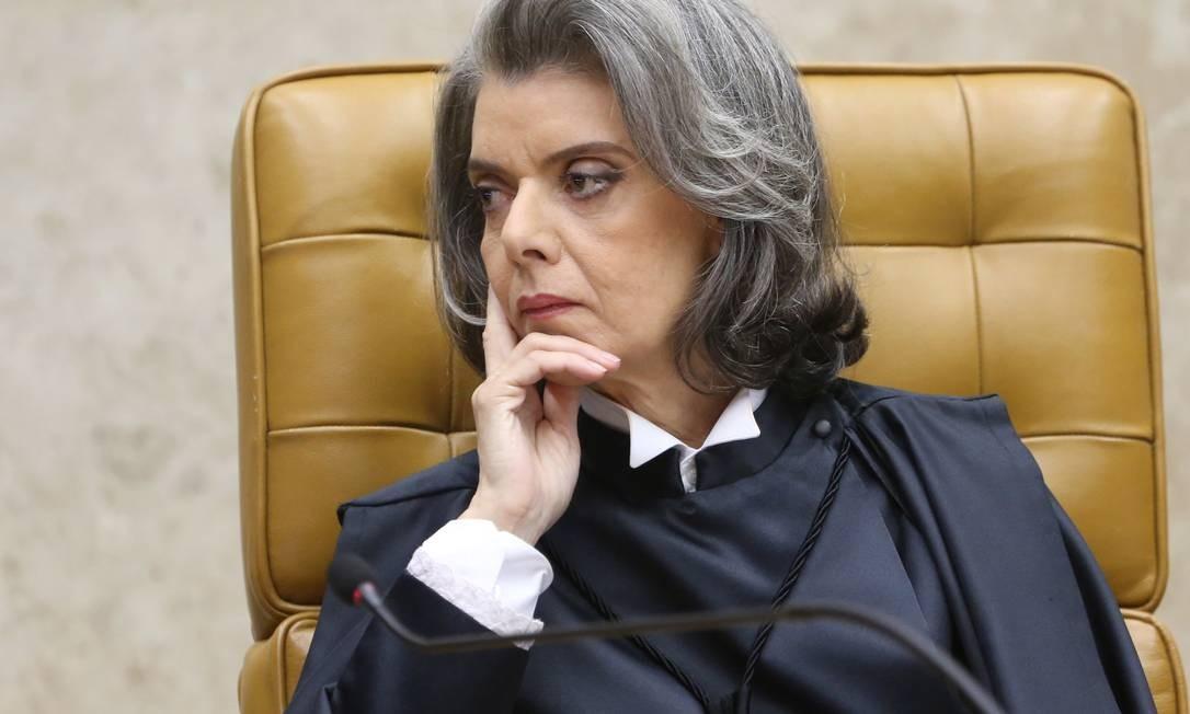 A ministra Cármen Lúcia toma posse como presidente do Supremo Tribunal Federal (STF) Foto: André Coelho