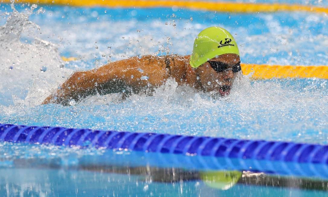 100m borboleta masculino S10. Andre Brasil Pablo Jacob / Agência O Globo