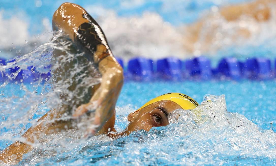 100m livre masculino S9. Ruiter Silva Pablo Jacob / Agência O Globo