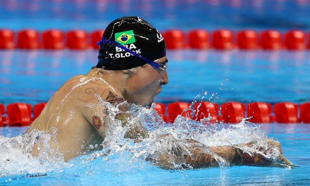 200m medley masculino SM6. Talisson Glock, terceiro lugar Pablo Jacob / Agência O Globo