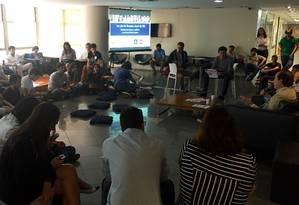 Osório participa de sabatina promovida por estudantes da Fundação Getúlio Vargas Foto: Divulgação