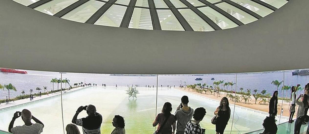 Total de visitantes do Museu do Amanhã superou em mais de 200% o que era previsto Foto: Guito Moreto