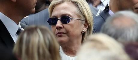 Abatida. Hillary participa de evento em Nova York: falta de transparência serviu de combustível para boatos Foto: JUSTIN SULLIVAN / AFP/11-9-206