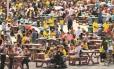 Torcedores lotam o Parque Olímpico, na Barra da Tijuca, no fim de semana, quando local teve movimento recorde. Venda de ingressos para os Jogos Paralímpicos, que começou tímida, ganhou força nos últimos dias
