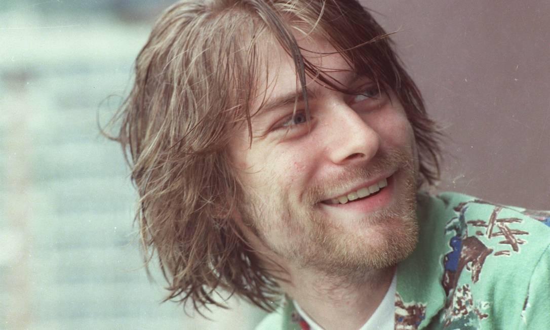 Kurt Cobain, ex-vocalista do Niverana Foto: Márcia Foletto / Agência O Globo