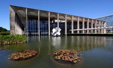 Palácio do Itamaraty, em Brasília Foto: Gustavo Miranda / Agência O Globo