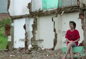 Moradora da Vila Autódromo, Maria da Penha se tornou em símbolo de resistência Foto: Reprodução / Reprodução