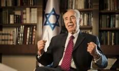 Ex-presidente de Israel Shimon Peres foi levado às pressas para um hospital perto de Tel Aviv Foto: Dan Balilty / AP