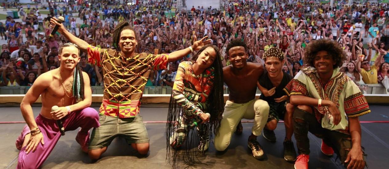 Dream Team do Passinho Foto: Divulgação/Paulo Guimarães/Rio-2016