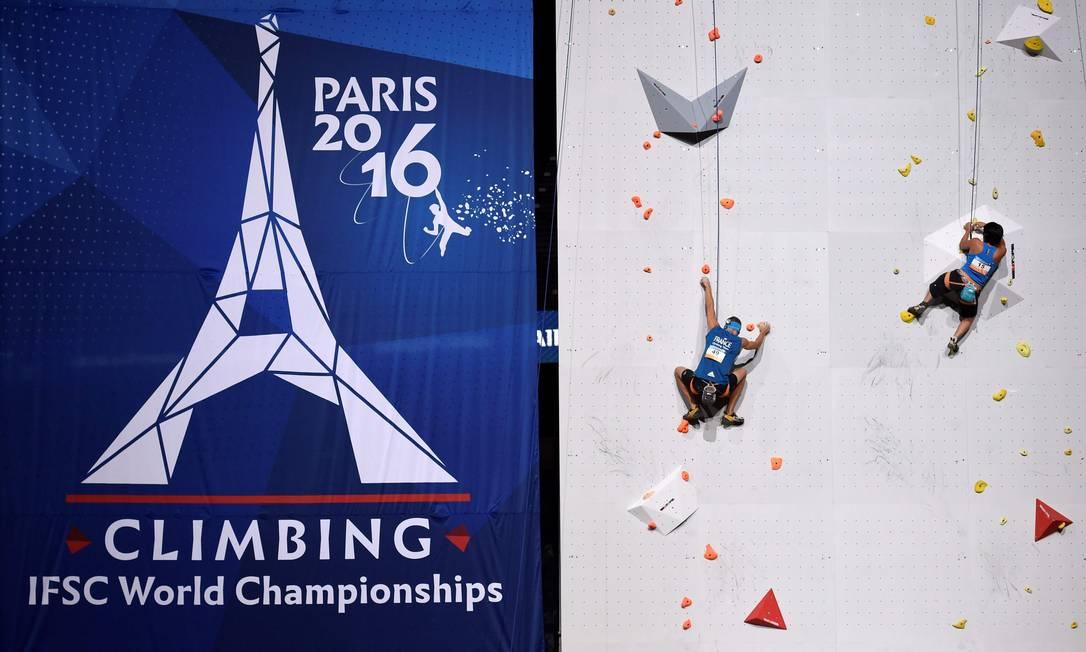 O esporte estará presente na Olimpíada de Tóquio MIGUEL MEDINA / AFP